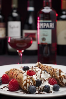 Campari & Cannoli
