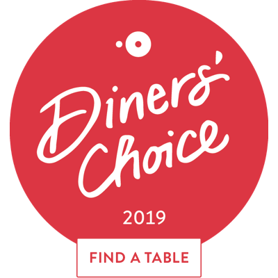 Diner's Choice Award 2019